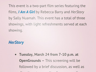 University of Virginia Screens HerStory for International Women's Month