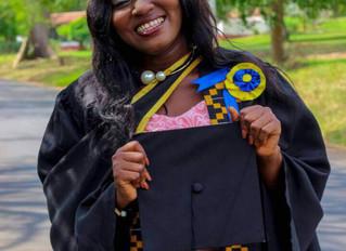 Graduation & Giving Tuesday: Dorothy Jumpah