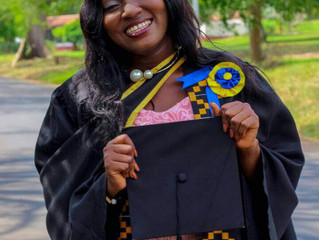 Graduation & Giving Tuesday: Dorothy Jumpah