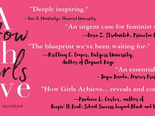 Founder, Sally Nuamah, releases How Girls Achieve (Harvard University Press)