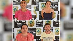 Quatro pessoas são presas suspeitas de matar casal para se vingar do filho de uma das vítima