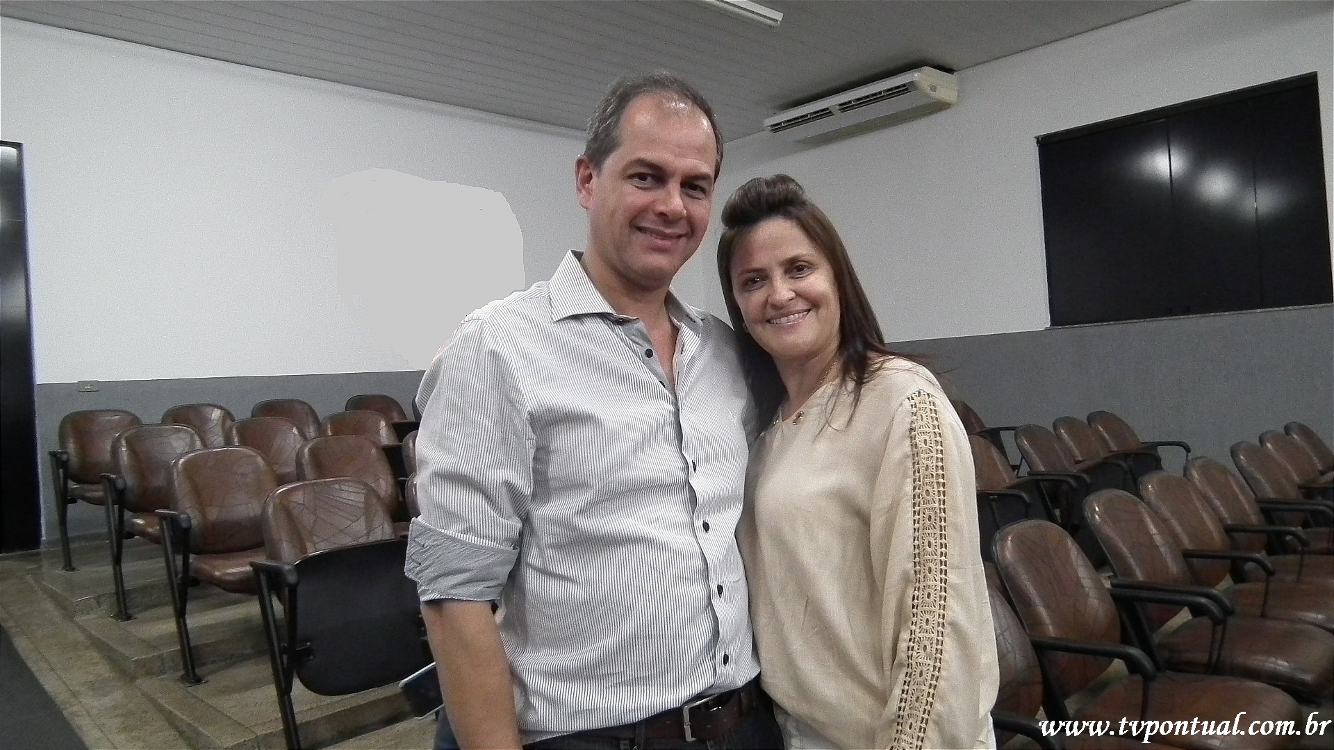 Mary Claudia e Vasco Frauzino