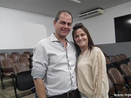 Foto do Dia - Hoje foi com o casal: Mary Claudia dos Santos e Vasco Frauzino Júnior (17/08/2.017)