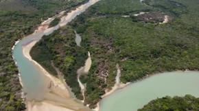 Moradores estão preocupados com a redução da água do Rio Araguaia: 'Está morrendo'