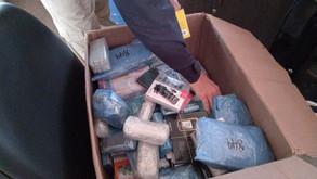 Empresário do ramo de transportes é preso com R$ 40 mil em mercadorias do Paraguai, na BR-060