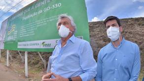 Governo de Goiás investe mais de R$ 16 milhões na duplicação da GO-330 e construção de dois viadutos