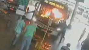 Mulher colocou fogo em motorista de ônibus por ele zombar do mau hálito dela, segundo delegada