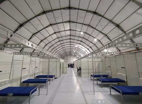 Governo cria 762 leitos e mantém 15 unidades em todas as macrorregiões do Estado de Goiás