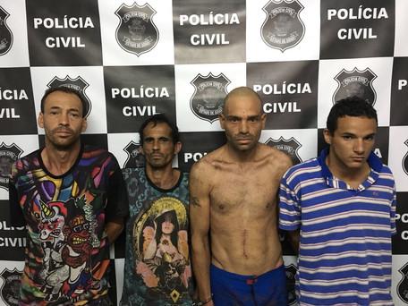 Polícia Civil de Caldas Novas prende traficantes
