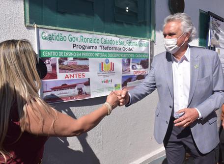 Governo investe R$ 3,5 mi em reformas nas escolas da Regional de Morrinhos