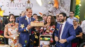 Governador é recebido com festa no Palácio Pedro Ludovico