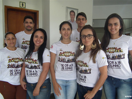 O Clique de hoje, foi com a equipe administrativa do Sindicato Rural de Morrinhos-GO
