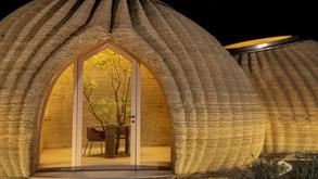 Casa de argila impressa em 3D pode indicar tendências da arquitetura no futuro