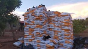 PC e PM recuperam carga furtada de milho híbrido avaliada em R$ 250 mil, no município de Rio Verde