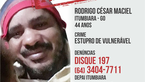 Homem investigado pela prática de estupro de vulnerável e ameaça é procurado pela polícia civil