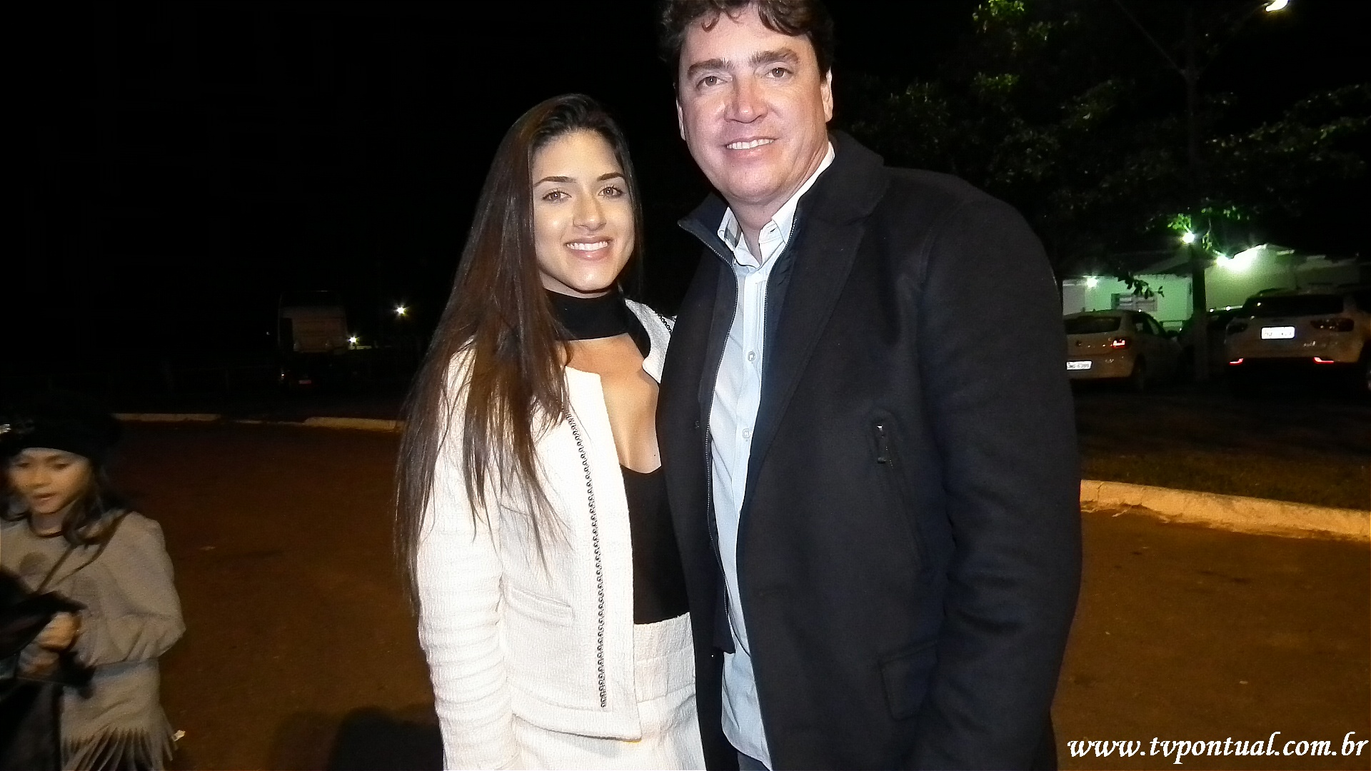 Senador Wilder Morais e sua Namorada