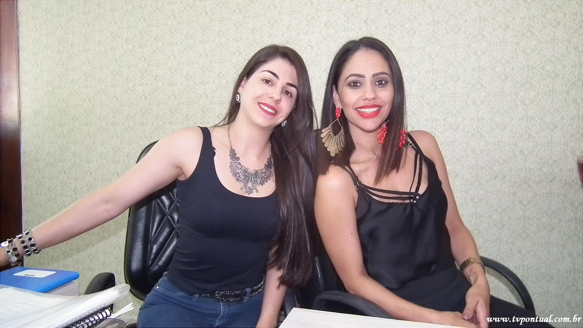 Rayra Rosa e Priscila Silva