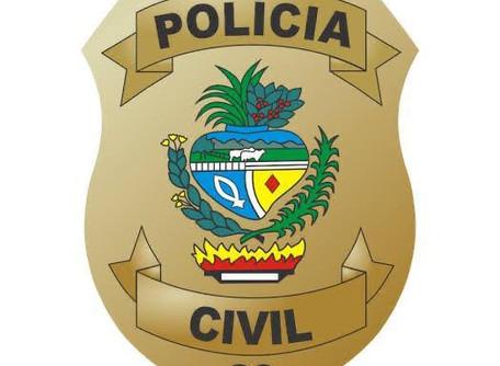 A Polícia Civil de Morrinhos, efetuou o cumprimento de mandado de prisão por crimes de furto e roubo