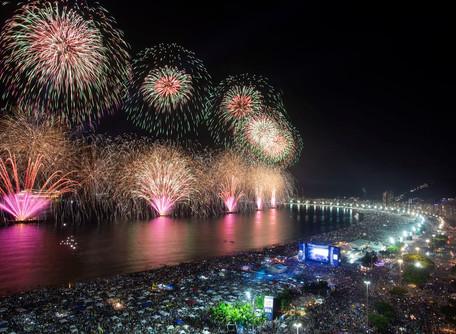 Prefeitura do Rio espera 2,8 milhões de pessoas no réveillon de Copacabana