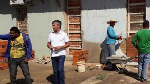 Em Buriti Alegre, após cinco anos com as obras paralisadas, a reforma do Colégio Estadual Padre Nest