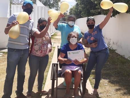 Hospital de Jaraguá registra primeiras altas da Covid-19