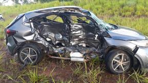 Colisão transversal entre veículos mata idoso na BR 060