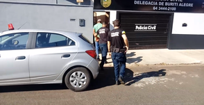 Em Buriti Alegre homem que é foragido da Justiça do Rio Grande do Sul, é preso pela Polícia Civil