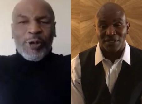 Fãs se animam com possível luta dos cinquentões Tyson e Holyfield para caridade