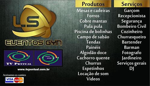 EVENTOS GYN - TEMOS DE TUDO PARA O SEU EVENTO!