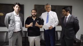 Emenda parlamentar do deputado Lucas Vergílio de 81 mi para recuperar Terra Ronca, em São Domingos!