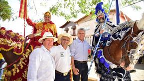 Governador anuncia R$ 4,5 milhões para o Caminho de Cora, durante Cavalhadas de Corumbá