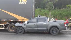 Médico morre em colisão traseira na BR-153, em Goiatuba-GO