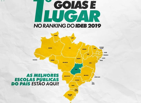 Liderança de Goiás no Ideb é reflexo de reestruturação do ensino