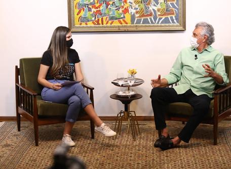 Goiás identificou o que deveria ser feito na hora certa, sem deixar nada passar de tempo, diz Caiado