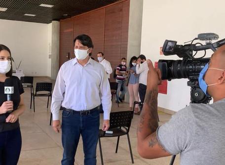 Em coletiva de imprensa, secretário de Cultura de Goiás explica detalhes sobre o Fica 2020