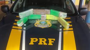 PRF encontra maconha escondida entre café e sabão em mochila de adolescente