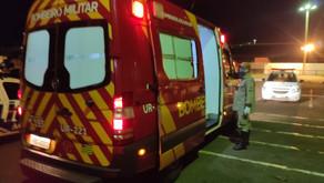 Corpo de bombeiros de Jataí socorre mulher após dar a luz a uma criança em sua residência