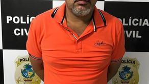 Em Pontalina assaltante é preso pela Polícia Civil do município na tarde de ontem (09/09/2019)