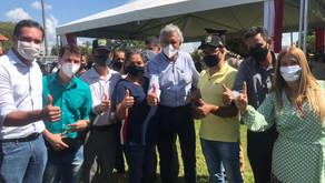 Nessa sexta-feira, 16, vereadores de Morrinhos estiveram com o governador Caiado, em Caldas Novas