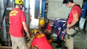 Homem cai em secador de grãos, irmão entra para tentar salvá-lo, mas ambos morrem, em Jataí