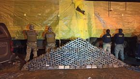 Operação contra o tráfico internacional de drogas resulta na apreensão de meia tonelada de cocaína