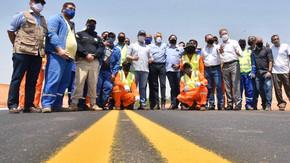 Caiado participa, ao lado do ministro da Infraestrutura, de entrega da restauração da BR-070