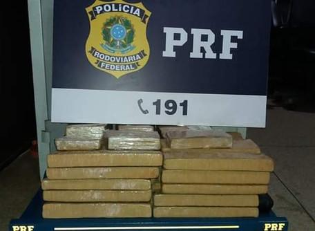 PRF prende homem pela segunda vez por tráfico de drogas, em seis meses