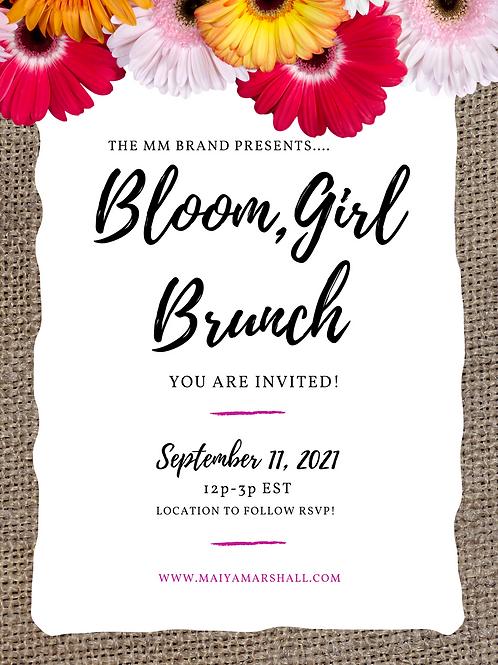 Bloom Girl Brunch Ticket