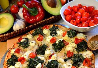 Fresh Handmade Pizza Vegetarian