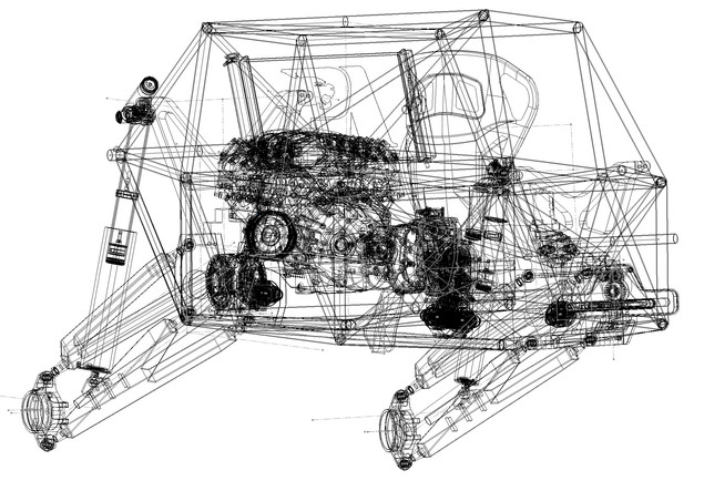 Proformance Predator 4X4 Flat Pack Buggy Chassis UTV BUGGY