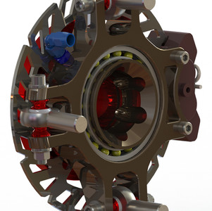 Billet SXS HUB with Tire Inflation - Tyre Inflation