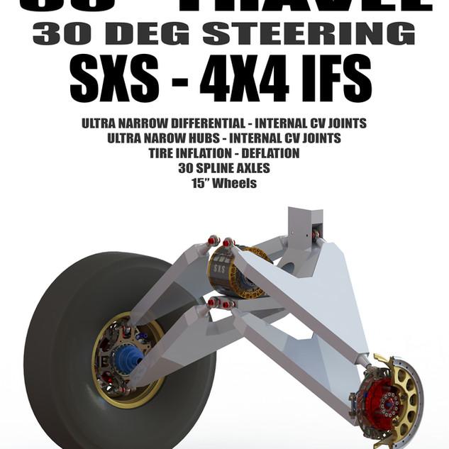 SXS Buggy - Extreme Travel - Extreme Wheel Travel - Proformance
