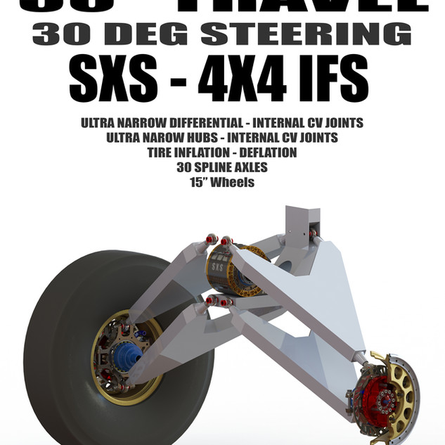 SXS Buggy - Extreme Travel - Extreme Wheel Travel - Proformance