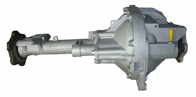 Traditional IFS Diffs are Very wide and have Short Half Shafts and Restricted Wheel Travel